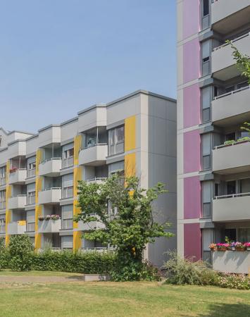 Wohnanlage Düsseldorfer Strasse München